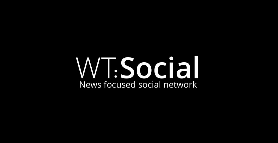 WT:Social - News focused social network (the WT:Social logo)