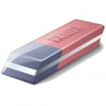 Image of an eraser